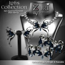 Lotis Collection - Deep Sapphire_Diamond