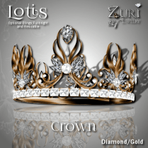 Lotis Crown - Diamond_Gold