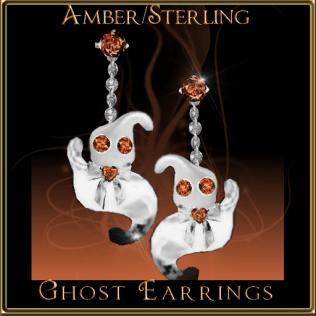 ghost-earrings-amber-sterling