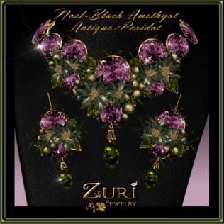 noel-black-amethyst-antique-peridot-zuri-rayna-jewelry