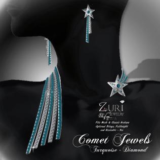 Comet Jewels - Turquoise_Diamond
