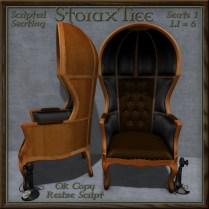 Restored Antique Porter's Chair B1