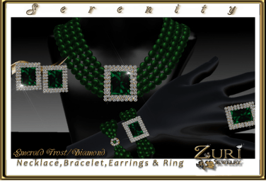 Serenity Collection-Emerald Frost-Diamond