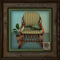 Tropics Med Patio Chair Right Br