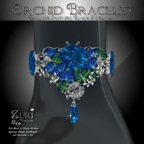 Orchid Bracelet - Boulder Sapphire_Black Diamond