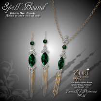 Spell Bound Set - Emerald_Dia_Gold