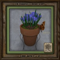 Terracotta Butterfly Floral Ai