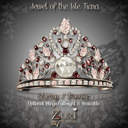 Jewel of the Isle Tiara - Cherry_Bronze