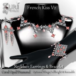 New Countdown 50 French Kiss Collection V2 - Coral Opal_Diamond