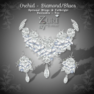 Orchid Diamond Blues