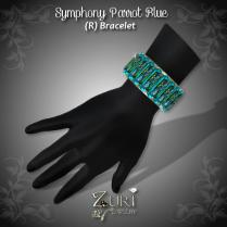 Symphony Bracelet (R) Parrot Blue