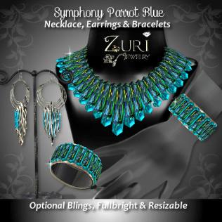 Symphony Collection - Parrot Blue