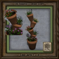Terracotta Tower of Plants Bg
