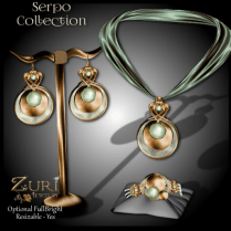Zuri Rayna - Serpo Collection - Olive_Gold