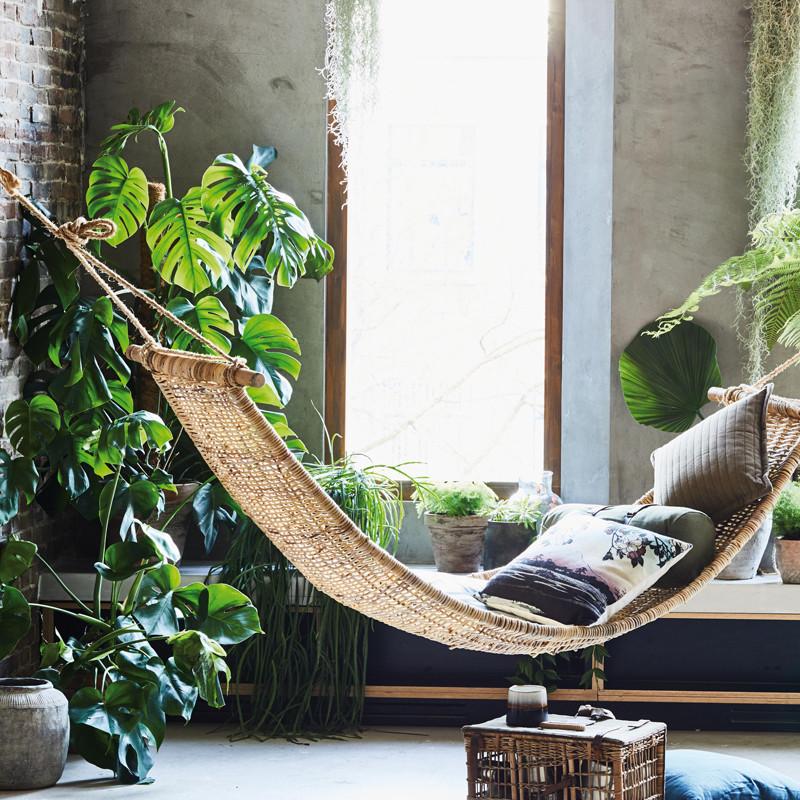 Hk Living Hangstoel Buiten.Hk Living Rotan Hangmat