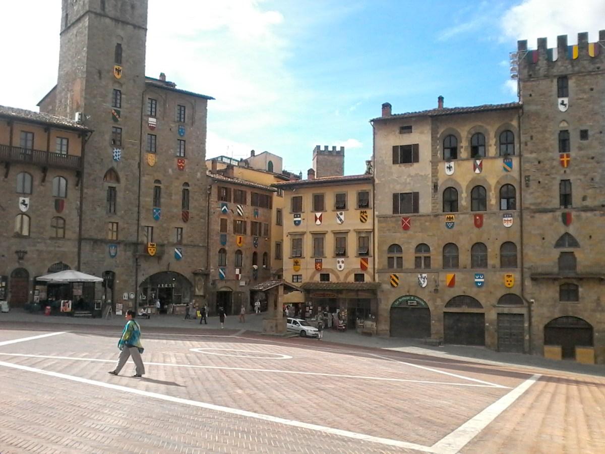 """Arezzo - to tam kręcono """"Życie jest piękne"""""""
