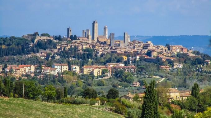 San Gimignano - 8 toskańskich miast