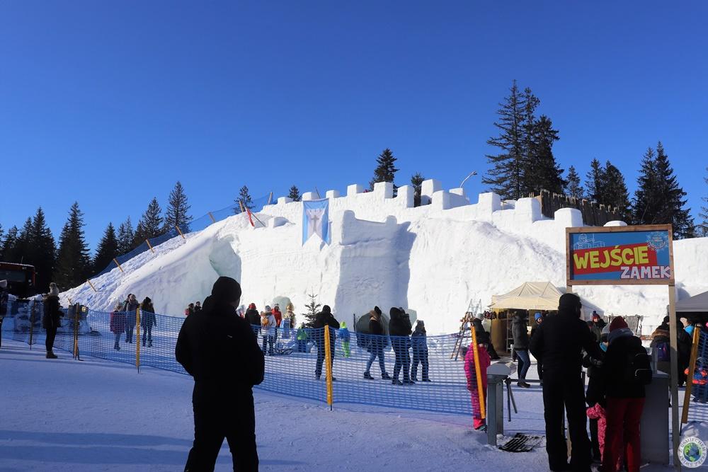 Zamek śnieżny