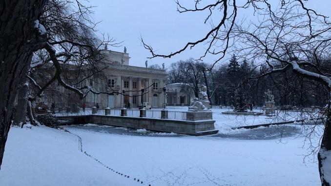 Łazienki Królewskie - Pałac na Wyspie