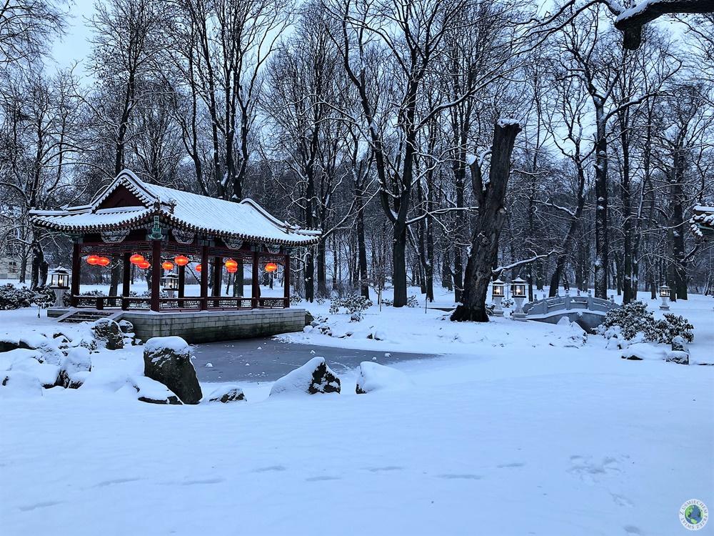 Łazienki Królewskie - Chiński Ogród