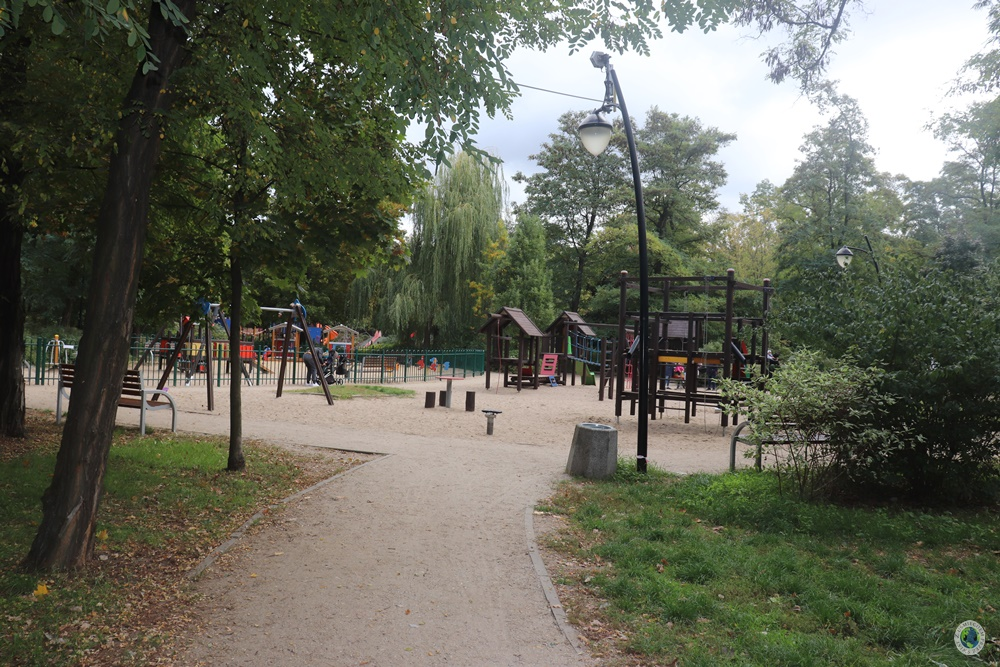 Plac zabaw w Forcie Bema