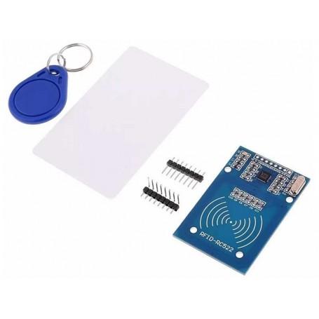 Modul RFID RC522+2 tag-uri (breloc si card) | Zutech.ro