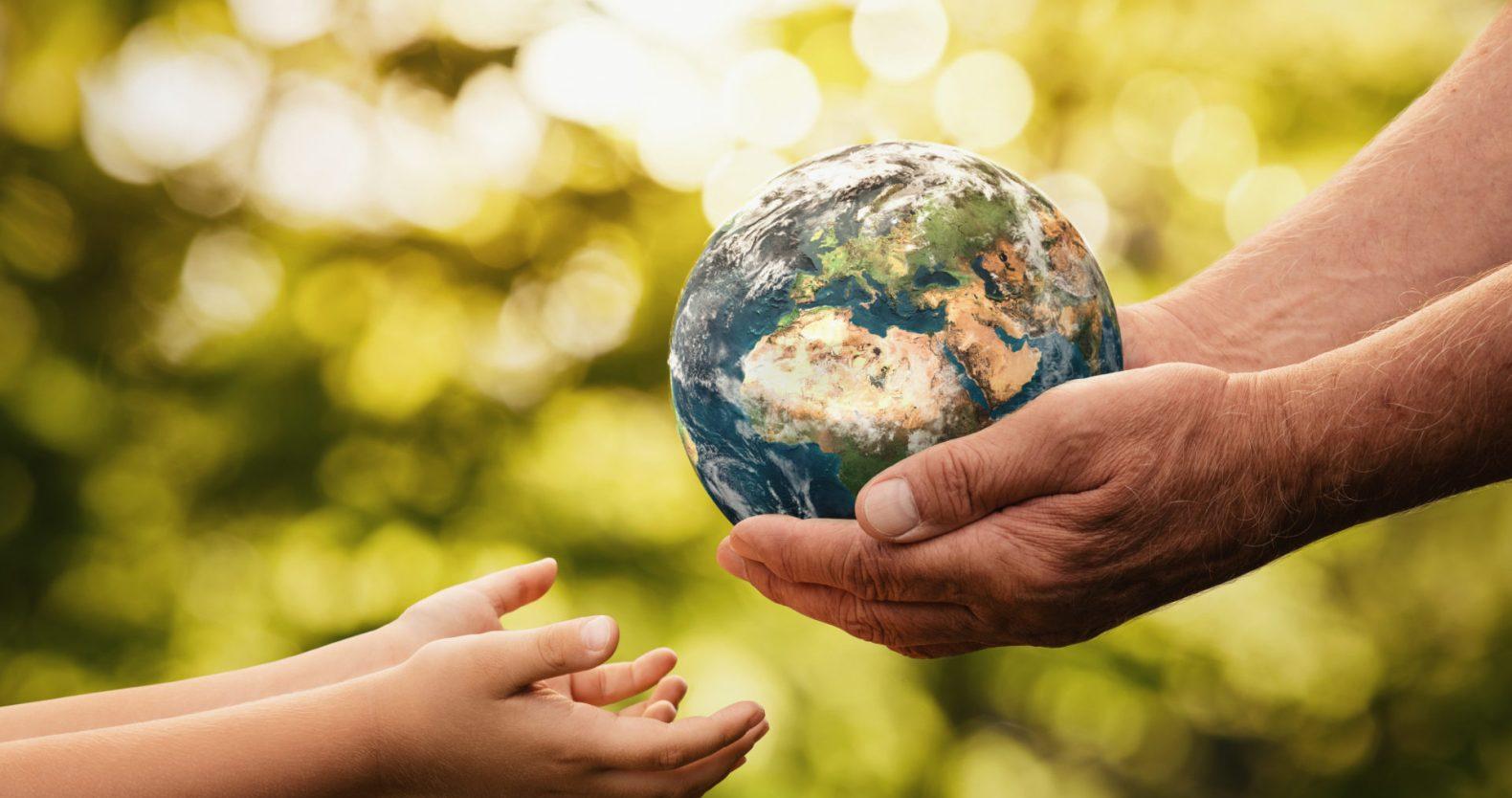 地球を美しいまま次世代に伝えよう