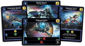 Quelques cartes de la faction bleue