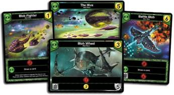 Quelques cartes de la faction verte