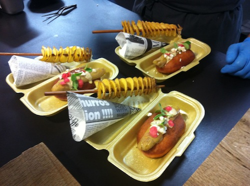 Brioche gaineko hotdoga