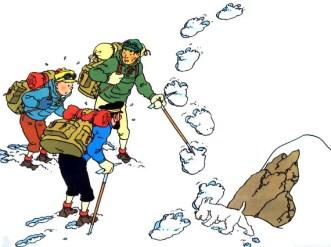 """Hergé, """"Tintin Tibeten"""""""