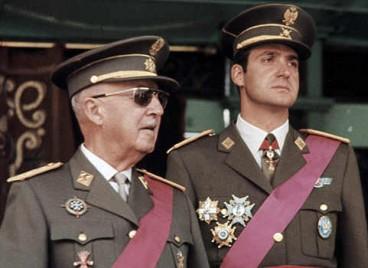 Franco eta Juan Carlos erregea