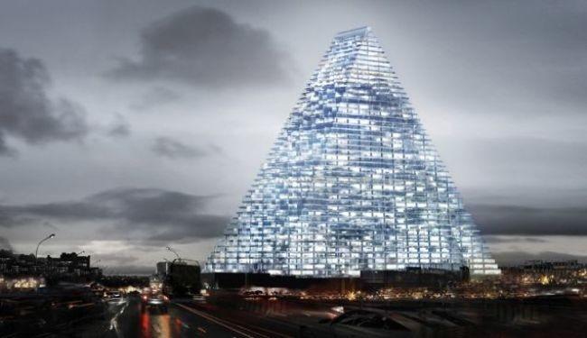 Tour Triangle, Parisko tontor berria