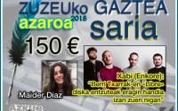 Maider Diazek erdietsi du azaroko Zuzeu Gaztea Saria