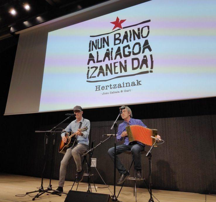 Gari & Josu Zabala, bi egunez berriro Hertzainak: irailak 25 eta 26an Euskalduna Jauregian