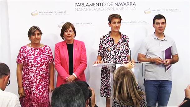 Nafarroako akordio programatikoari bistadizo bat