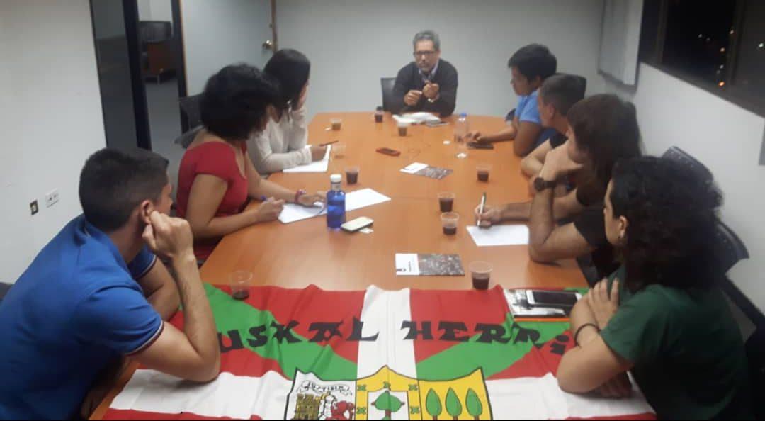 Lurralde Antolaketarako ministro ordearekin topaketa (Venezuelako brigadaren 3. kronika)
