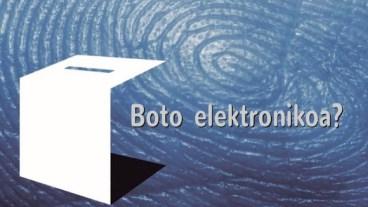 Boto elektronikoa