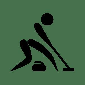 Curlingera jokatzen Bartzelonan