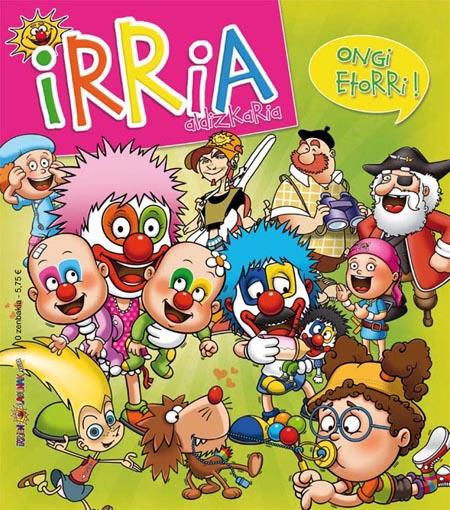 Irria aldizkari berriaren azala