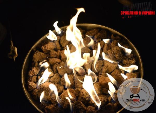 Мобільне газове вогнище (камін)