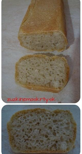 Toastový chlieb s kváskom