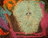 """18"""" x 14"""" Acrylic on framed Canvas Painting"""
