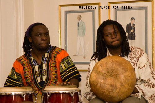 Some Great Mbira Players in the UK