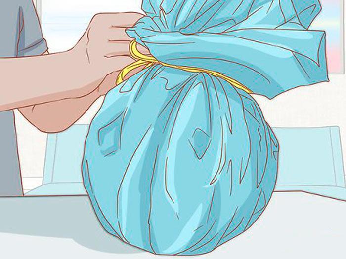 На фото изображено - Как упаковать подарок, рис. Упаковка круглого подарка