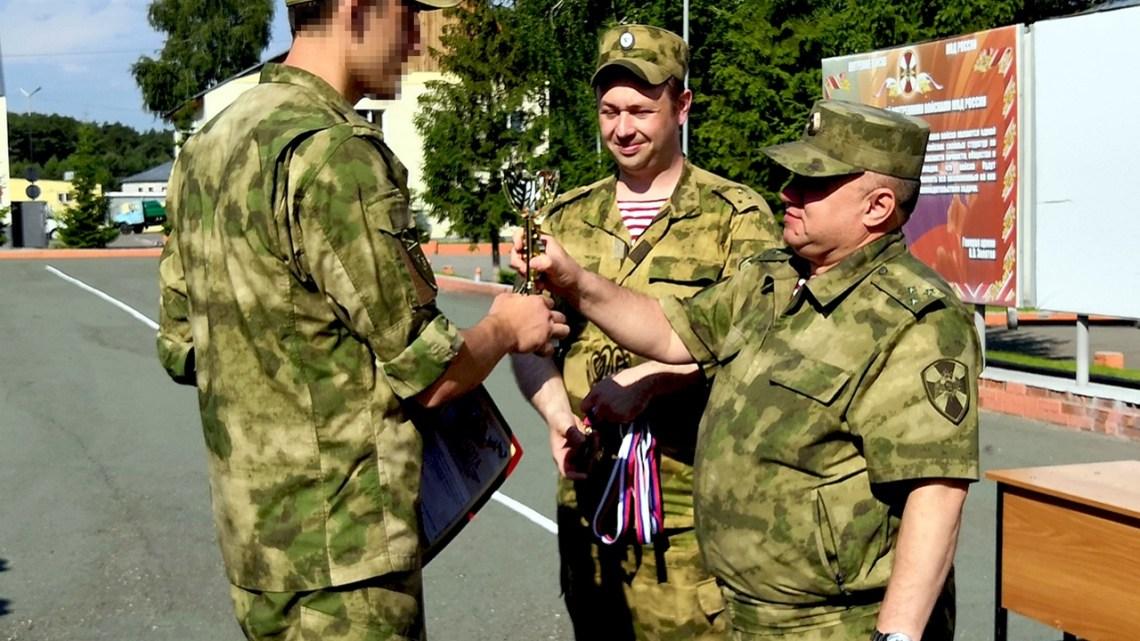 Команда ОМОН Управления Росгвардии по Республике Алтай стала бронзовым призером соревнований по ориентированию на местности