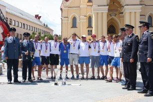víťazné družstvo HaZZ Poprad