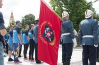vlajkonosič hasičov