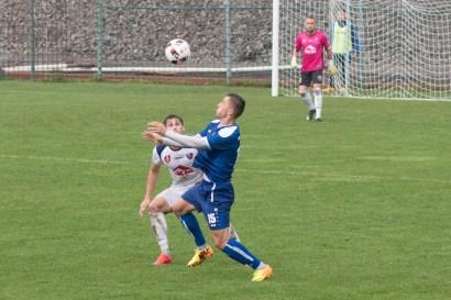 MFK Zvolen (biela) - FC Lokomotíva Košice (modrá)