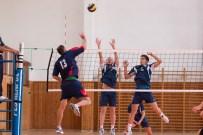 volejbalový zápas mužov vo Zvolene na sídlisku Západ
